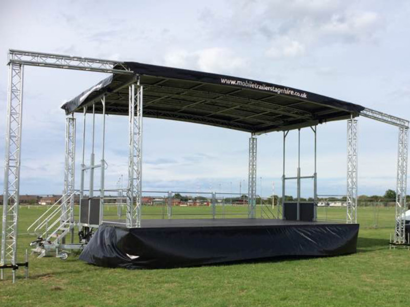 Mobile Trailer Stage Hire | Mobile Trailer Stage Hire
